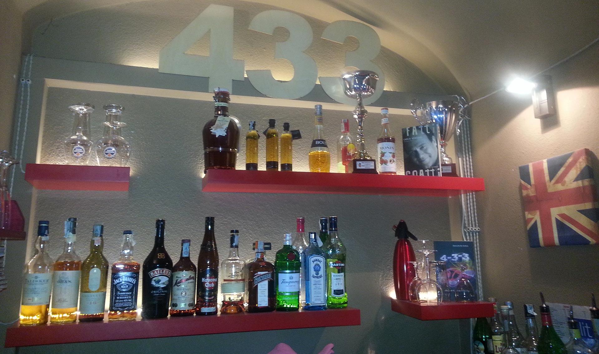 Cocktails del Ristorante 433 a Roma Piazza Navona Governo Vecchio