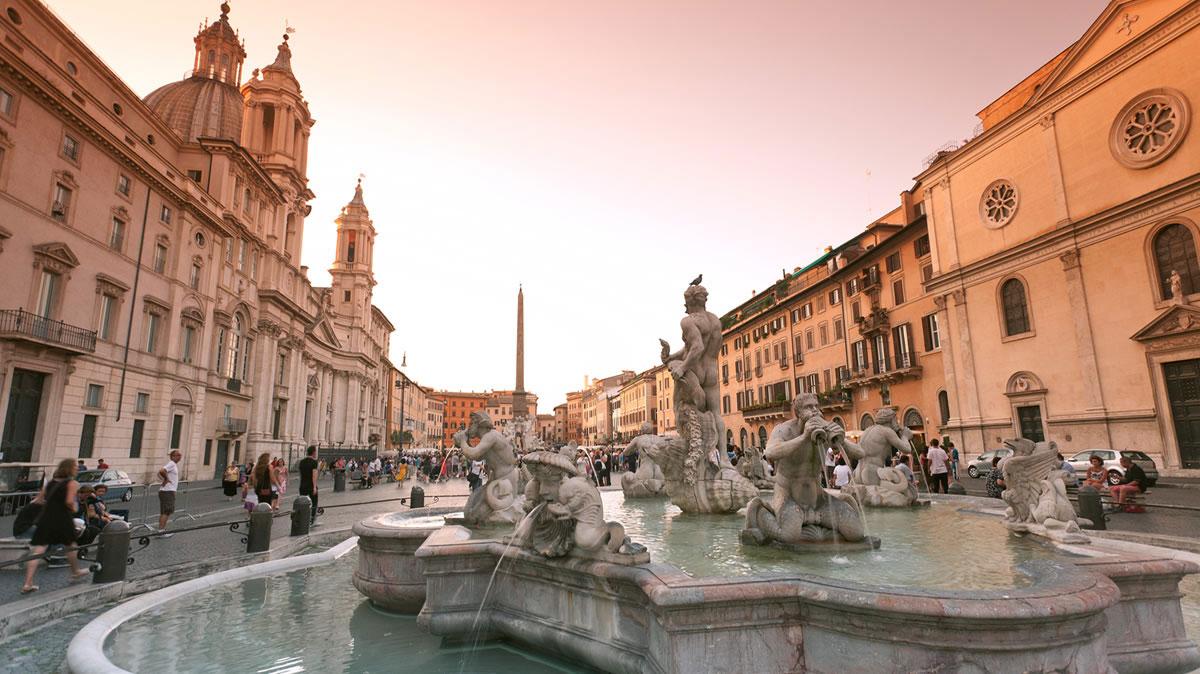 Piazza Navona, vicina al Ristorante 433