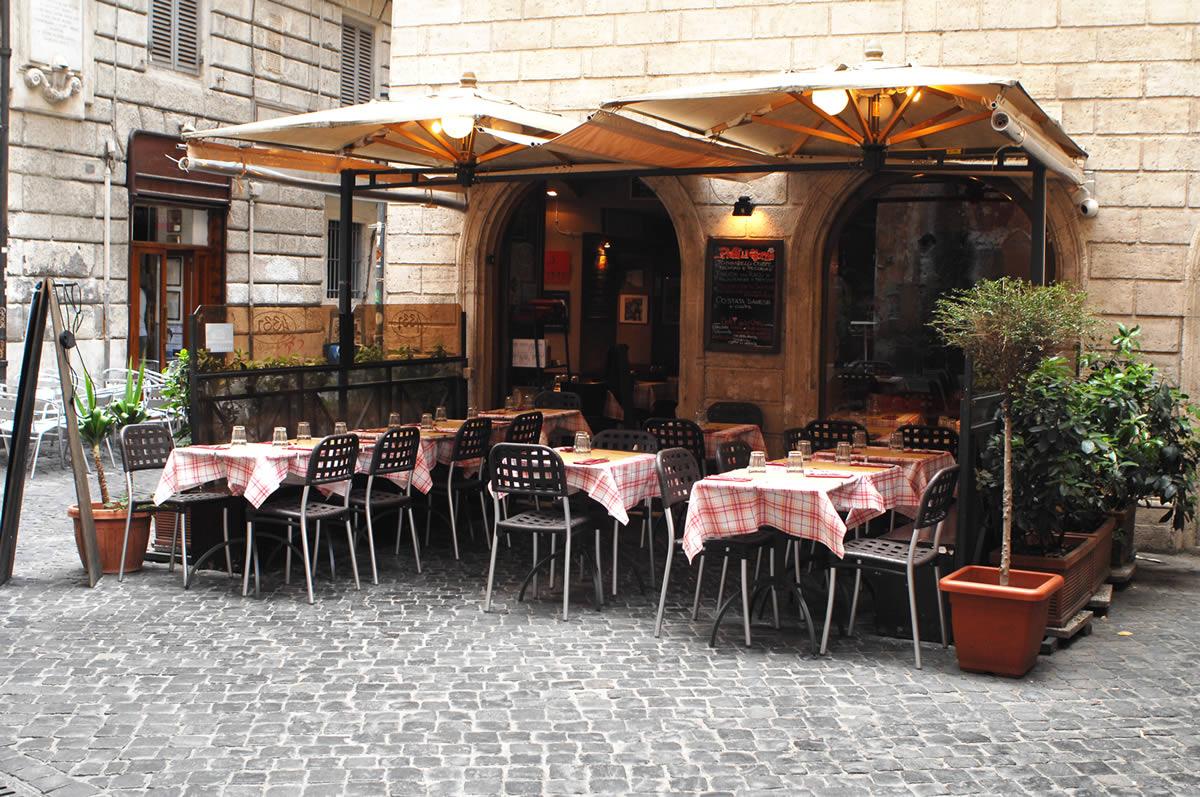 Ristorante 433 a Roma Piazza Navona Governo Vecchio