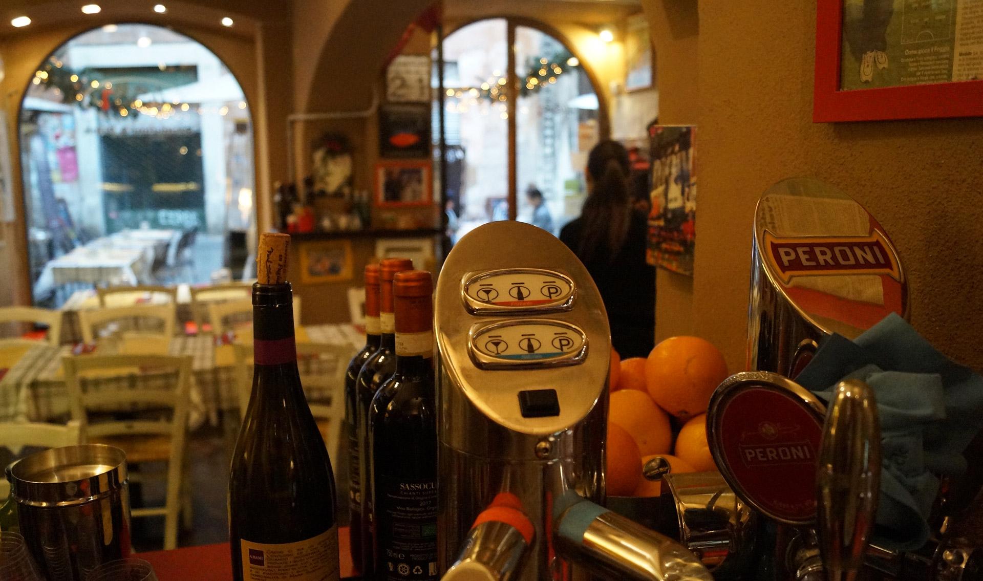 Drinks del Ristorante 433 a Roma Piazza Navona Governo Vecchio
